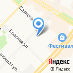 Fitness Lab на карте Ангарска