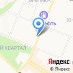 Ярославна на карте Ангарска