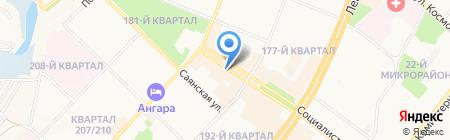 Hot dogs на карте Ангарска