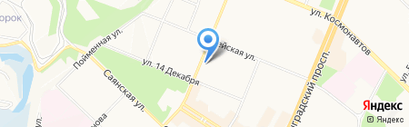 Аптека 28 на карте Ангарска