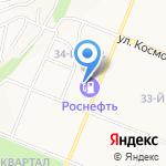 Беркут на карте Ангарска
