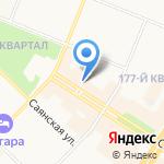 Иркутская прокуратура по надзору за исполнением законов на особо режимных объектах на карте Ангарска