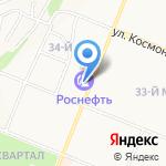 РосНефть на карте Ангарска