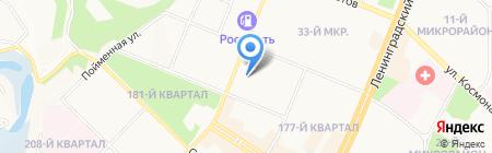 Детский сад №8 на карте Ангарска
