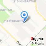Сытая улыбка на карте Ангарска