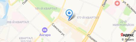 Мой компьютер на карте Ангарска