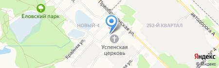 Почтовое отделение №1 на карте Ангарска