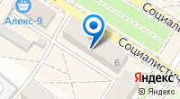 Компания Аквамарин на карте