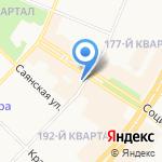 ЧебуRашка на карте Ангарска
