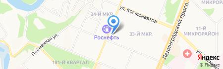Алкомаркет Кайрос на карте Ангарска