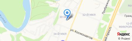 ОМ на карте Ангарска