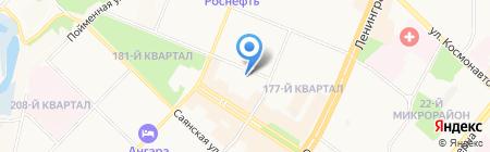 Детский сад №27 на карте Ангарска