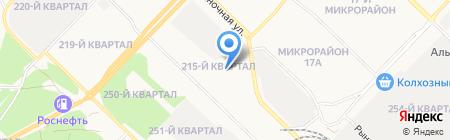 Тайга-продукт на карте Ангарска