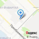 Центр-Авто на карте Ангарска
