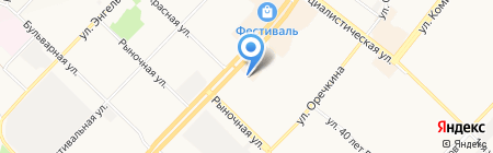 Оазис на карте Ангарска