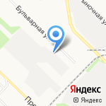 Фирменный на карте Ангарска