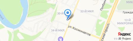 Пойдём! на карте Ангарска