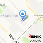 Каравай на карте Ангарска