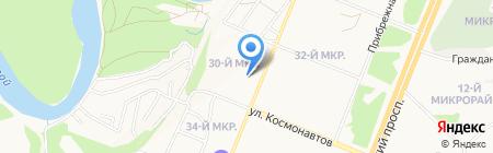 БУиНО на карте Ангарска