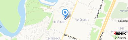 Витас на карте Ангарска