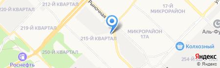 ФорДА на карте Ангарска