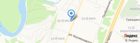 Кристофер на карте Ангарска