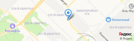Согдиана на карте Ангарска