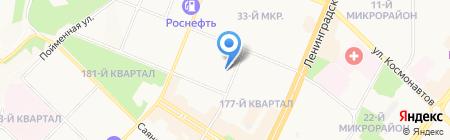 Улыбка на карте Ангарска