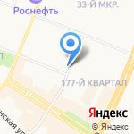 Рафинад на карте Ангарска