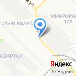 Молоток на карте Ангарска