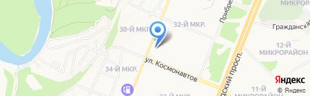 Банкомат Промсвязьбанк на карте Ангарска