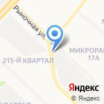 Автошины Иркутска на карте Ангарска