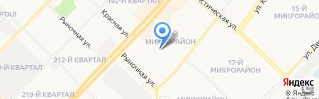 Детский сад №111 на карте Ангарска