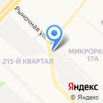 Магазин запчастей для корейских автомобилей на карте Ангарска