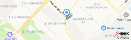 У Бороды на карте Ангарска