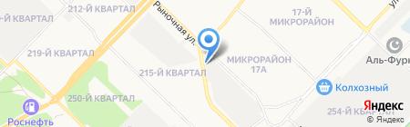 Колор-Мастер на карте Ангарска