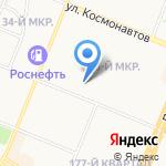 Карамелька на карте Ангарска