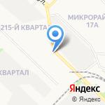 Глория на карте Ангарска