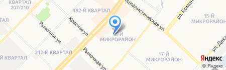 Камилл на карте Ангарска