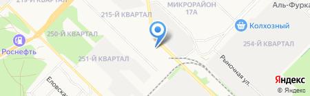Орвикс на карте Ангарска