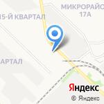 ХозТорг на карте Ангарска