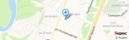 32-ой на карте Ангарска
