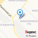 Профи на карте Ангарска