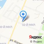 Варвара Краса на карте Ангарска