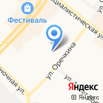 Дзэндо на карте Ангарска