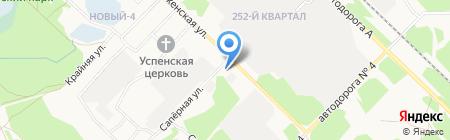 Шаг навстречу на карте Ангарска
