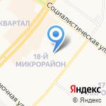 Детский сад на карте Ангарска
