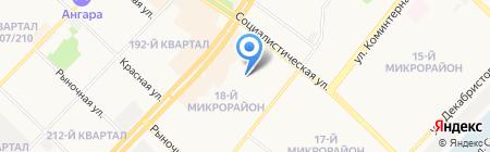 New Star на карте Ангарска