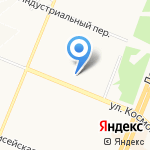 Re-style на карте Ангарска