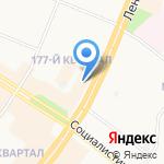 Росгосстрах банк на карте Ангарска